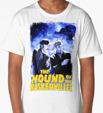 Sherlock Holmes The Hound Of The Baskervilles Film T-Shirt Long T-Shirt