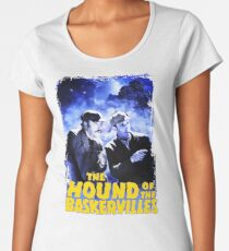 Sherlock Holmes The Hound Of The Baskervilles Film T-Shirt Women's Premium T-Shirt