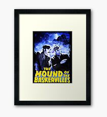 Sherlock Holmes The Hound Of The Baskervilles Film T-Shirt Framed Print