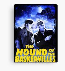 Sherlock Holmes The Hound Of The Baskervilles Film T-Shirt Canvas Print
