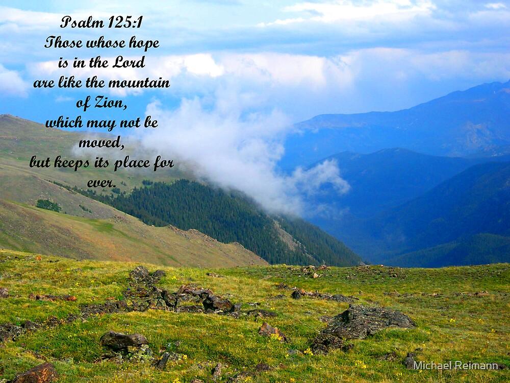 Psalm 125:1 by Michael Reimann