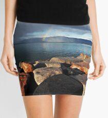 Distant Rainbow Mini Skirt