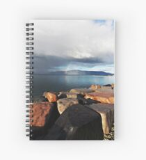 Distant Rainbow Spiral Notebook