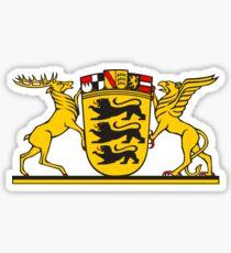 Grosses Landeswappen Baden-Württemberg Sticker