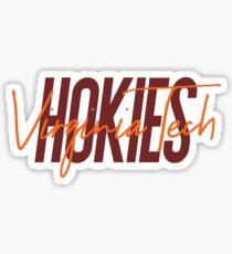 Virginia Tech Hokies Geofilter Sticker