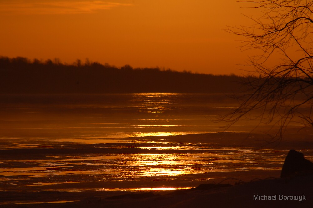 warm ice by Michael Borowyk