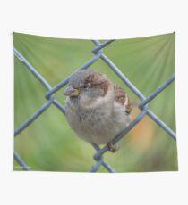 Mei Spatzl #2 - Sparrow | Roosevelt Island, New York Wall Tapestry