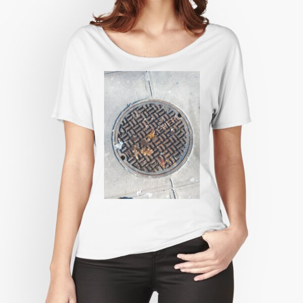 3D Surface, 3D, Surface Relaxed Fit T-Shirt