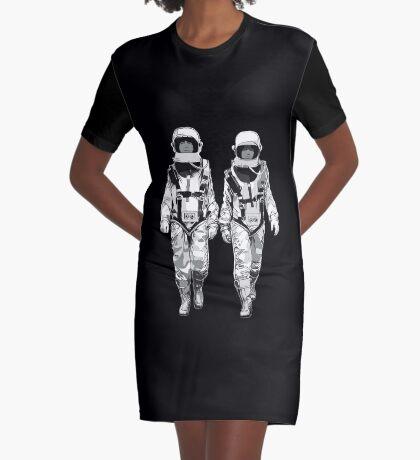 The Hero Walk Graphic T-Shirt Dress