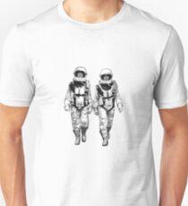 Camiseta unisex La caminata del héroe