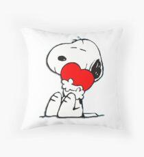 Snoopy! Throw Pillow