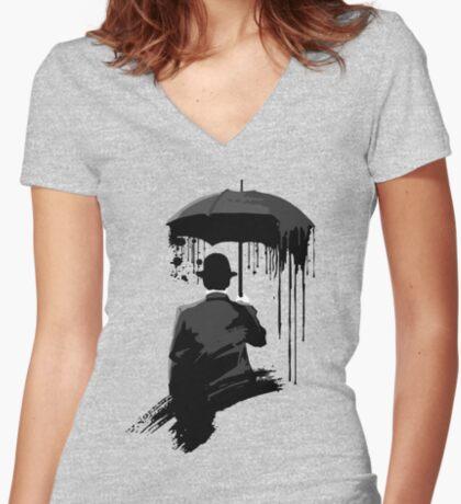 Sunshine Women's Fitted V-Neck T-Shirt