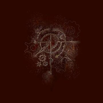 Ghostly Steampunk Motif by SuspendedDreams