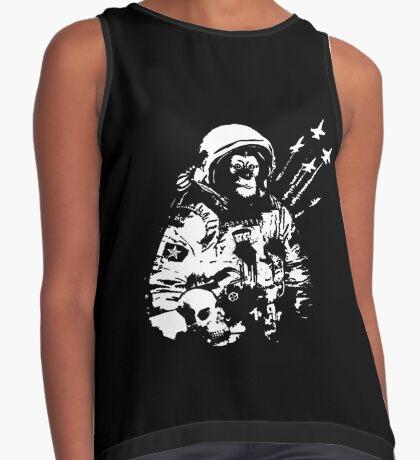 Space Chimp Contrast Tank