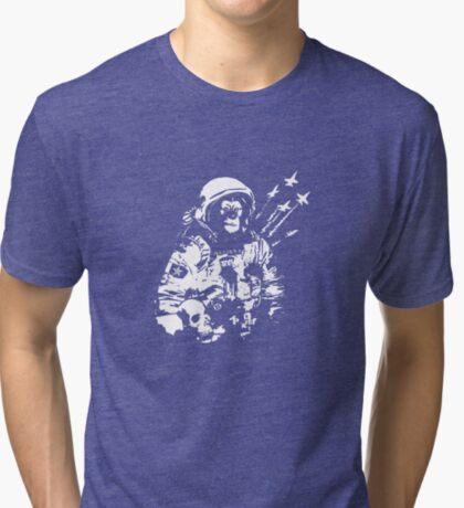 Space Chimp Tri-blend T-Shirt