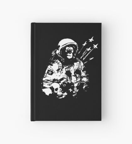 Space Chimp Hardcover Journal