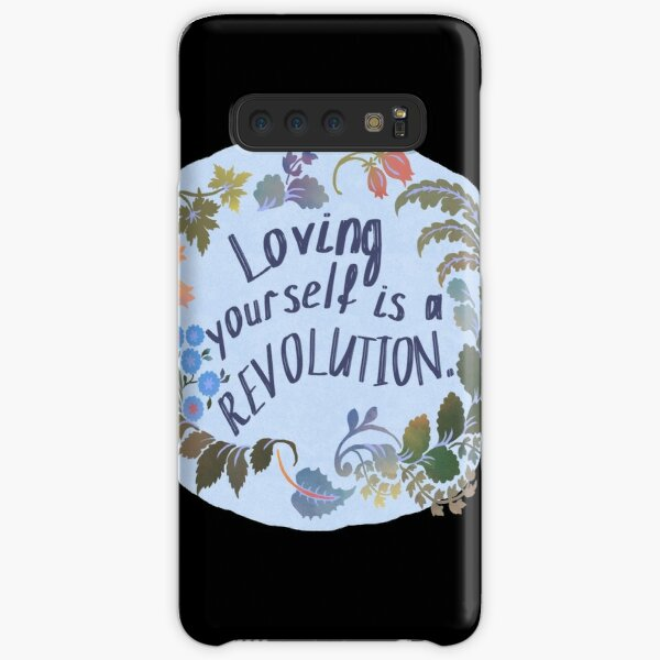 Loving Yourself Is A Revolution Samsung Galaxy Snap Case
