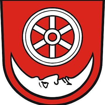 Coat of Arms of Bönnigheim, Germany by PZAndrews