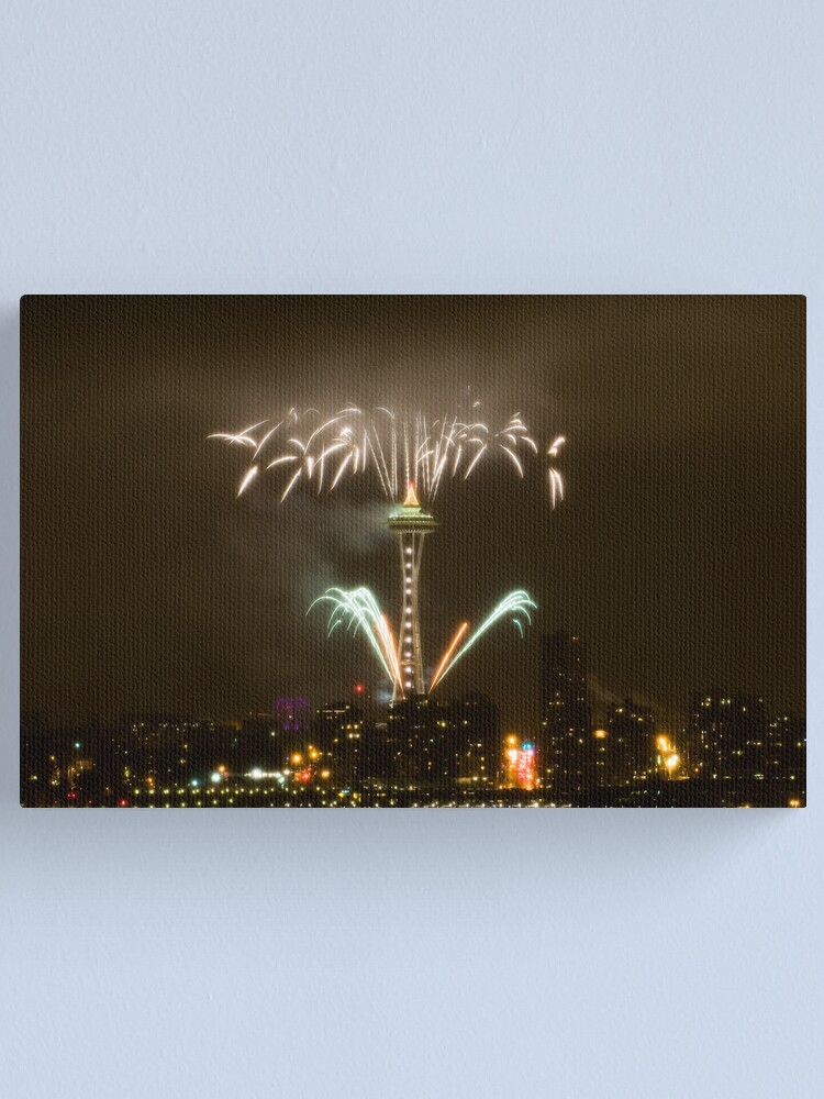 Alternate view of 2009: Seattle Enlightened  Canvas Print