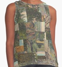 Tree Points Drop Contrast Tank