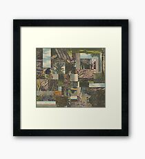 Tree Points Drop Framed Print