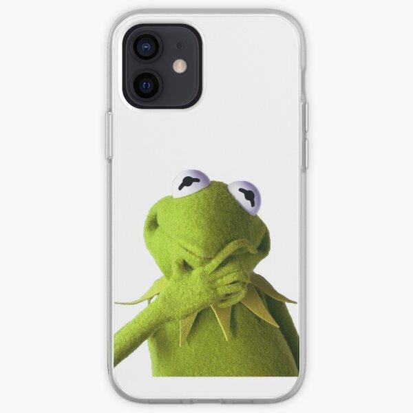 kermit thinking iPhone Soft Case