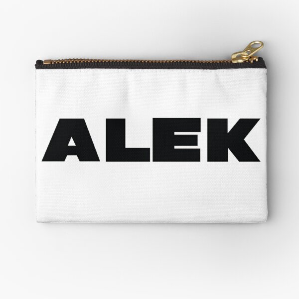 Name Alek / Inspired by The Color of Money Zipper Pouch