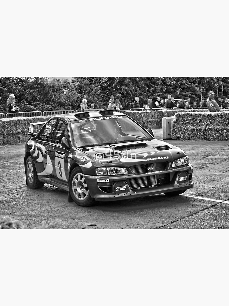 Retro Colin McRae Subaru Impreza WRX Sti Rally Car by m45t1n