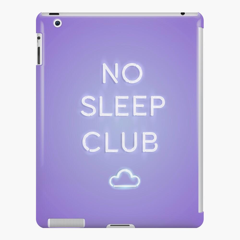 No Sleep Club iPad Case & Skin