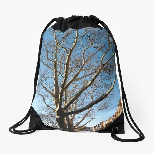 3D Surface, 3D, Surface Drawstring Bag