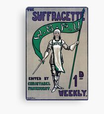The Suffragette Canvas Print
