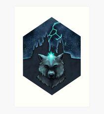 The Wolf Star Art Print