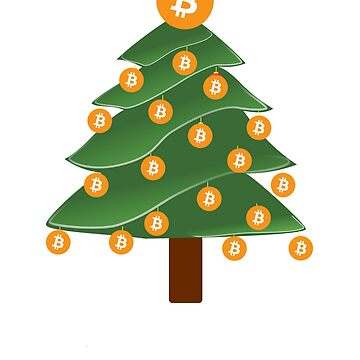 Bitcoin T-Shirt - Merry Cryptmas Shirt - Bitcoin Shirt by NativOrganics