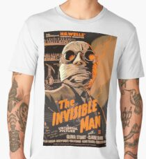 The Invisible Man - Retro Men's Premium T-Shirt
