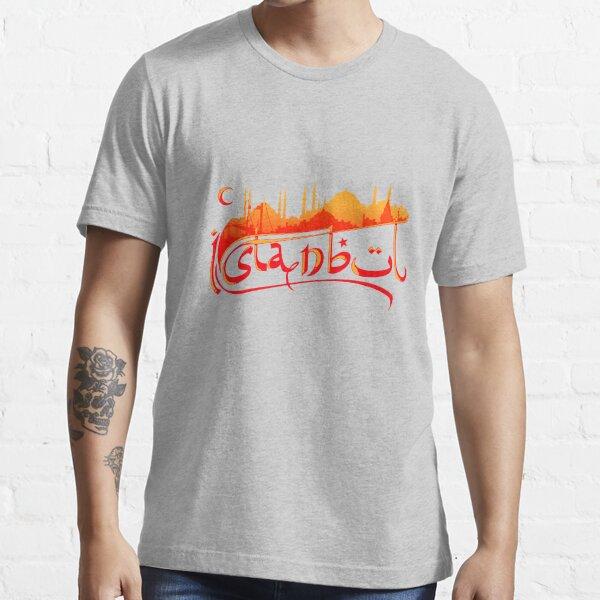 Istanbul Skyline Essential T-Shirt