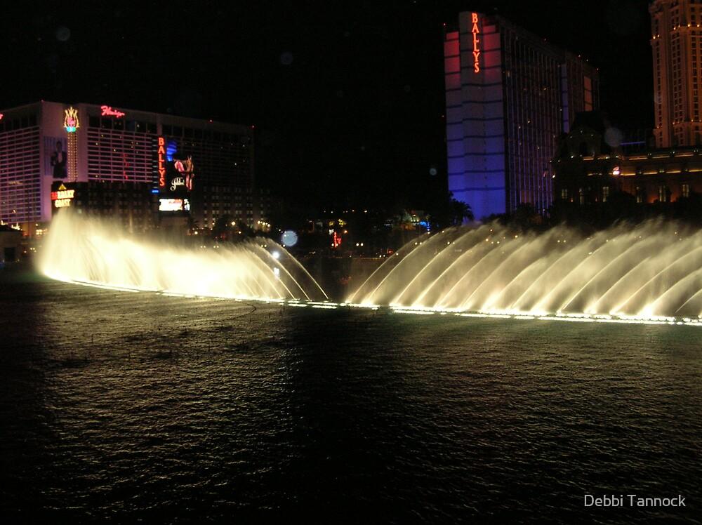 Vegas in Blue by Debbi Tannock