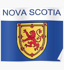 Nova Scotia Abstract Art  Poster