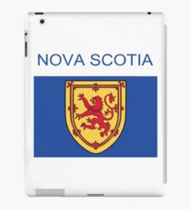 Nova Scotia Abstract Art  iPad Case/Skin