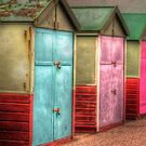 Beach Huts by Greg Roberts