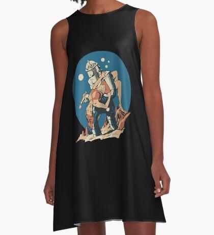 Damsel in Space A-Line Dress