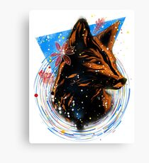 magical fox Canvas Print