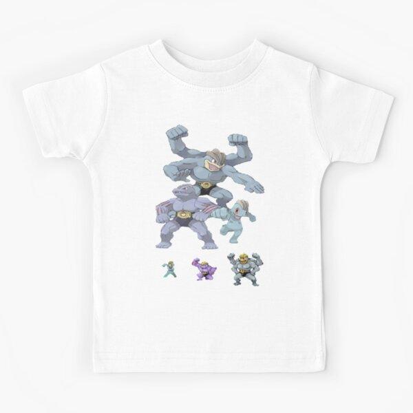 Machamp Family Kids T-Shirt