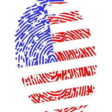 American Fingerprint by Calgacus