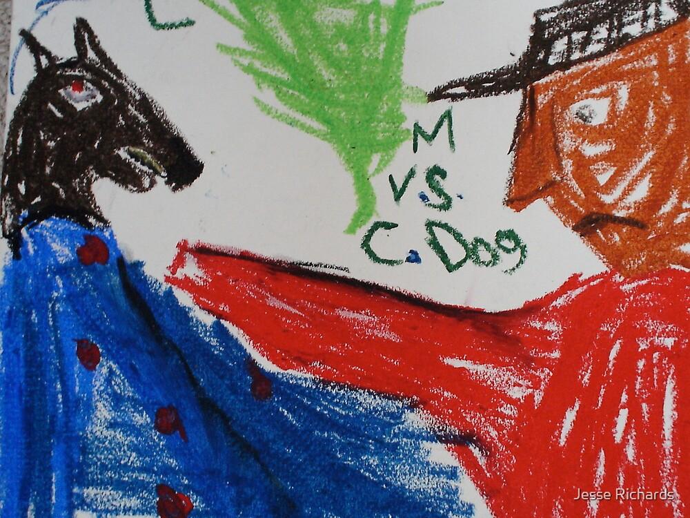 M vs. C-dog by Jesse Richards