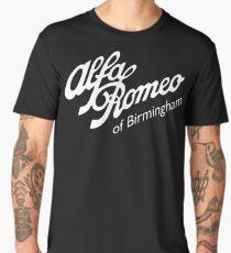 Classic Alfa of Bham White Men's Premium T-Shirt