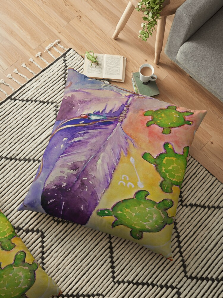 Turtle feather by Natasha Garcia