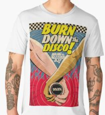Burn Down the Disco Men's Premium T-Shirt