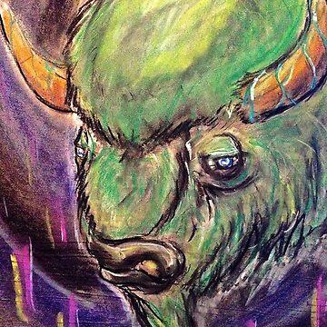 The Spirit Buffalo by FlannelDave