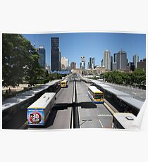 Brisbane interchange  Poster