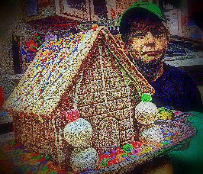 GingerBreadHouse by lochnessie